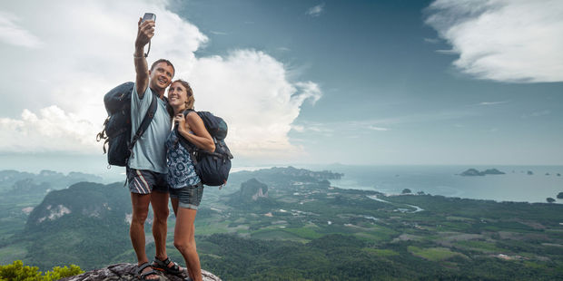 Falling from heights is the most common way to die while taking a selfie. Photo / 123RF