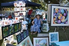 Artists from throughout the region will be at the Government Gardens on Sunday to make and sell art.