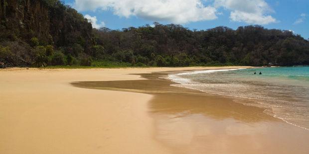 Baia do Sancho on the island of Fernando de Noronha in Brazil. Photo / 123RF