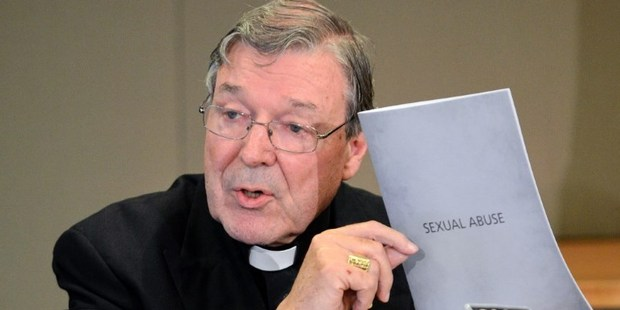 Australian cardinal George Pell is being investigated over claims that he sexually abused and groomed minors, it has been reported. Photo / AFP