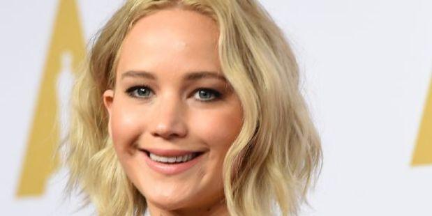 Actress Jennifer Lawrence. Photo / AFP