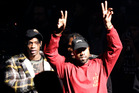 Kanye West has told his Twitter followers he's struggling with millions of personal debt. Photo/AP