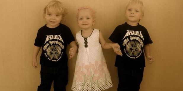 Lillie, Jackson and Willsher Weekes died in the 2012 fire at Villaggio Mall in Doha. Photo / Supplied