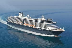 MS Noordam Holland America cruise ship.