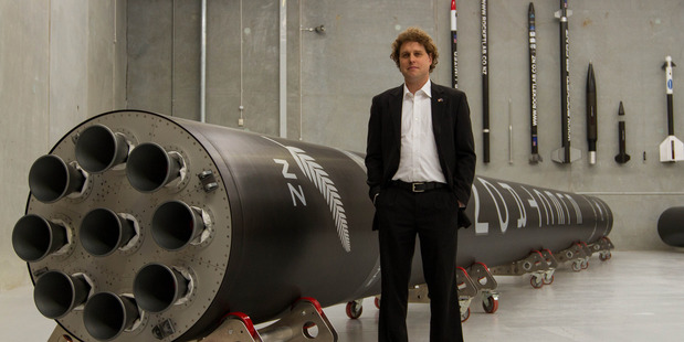 Rocket scientist Peter Beck, chief executive and founder of aerospace comapny Rocket Lab. Photo / Geoff Dale