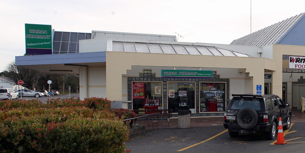 Wairoa Pharmacy is the town's only dispensary. Photo / Duncan Brown, Hawke's Bay Today