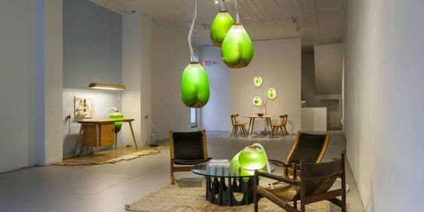 Light up your home with edible algae that is good for the environment. Image / Facebook.com/Sci Westwood
