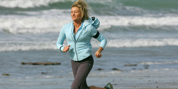 Former marathon runner Allison Roe.
