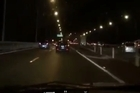Film of the Auckland Harbour Bridge at 6am, cars flowing over about 80kmph around 6am with no issues. The passenger who filmed this said it was 'slightly' heavier than usual at this time.