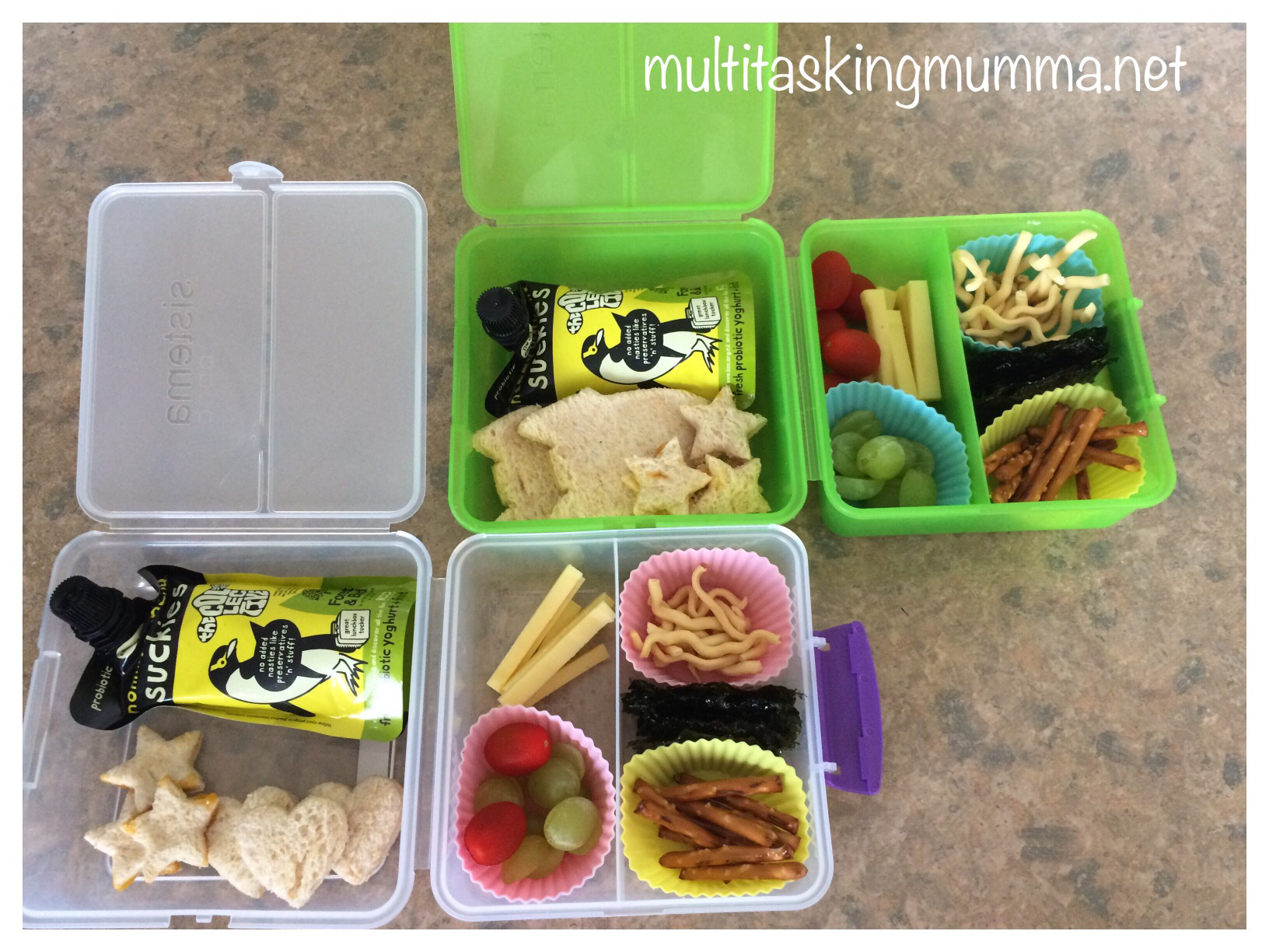Nikki Marie enjoys putting together interesting bento lunch boxes. Photo / Supplied