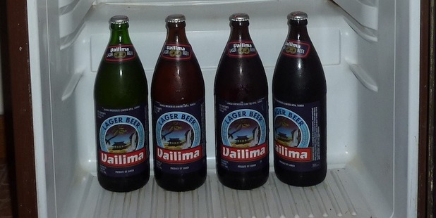 Stick to the local beer, like Samoa's Vailima. Photo / Wikimedia Commons