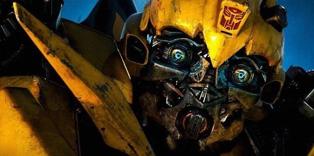 Autobot Bumblebee from the Transformers movie.
