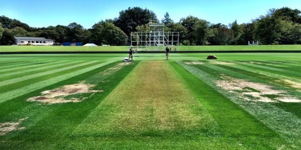 Christchurch's Hagley Oval ahead of the the start of the second test between the Black Caps and Australia on Saturday. Photo/cricket.com.au