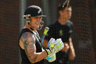 Brendon McCullum's tattoos tell the tale of his remarkable career and his love of family and country. Photo / Getty Images