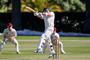 Plunket Shield match between Otago and Canterbury at Rangiora on December 2014. Photo / Getty Images