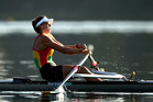 Brooke Donoghue was one rower to earn a maiden redcoat at the nationals champs. Photo / Getty