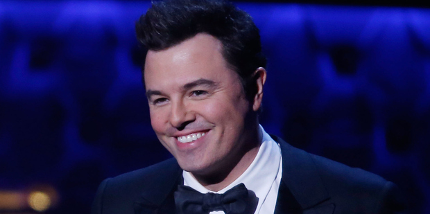 Seth MacFarlane burnt his hand on a candle before the Grammy Awards. Photo / Getty Images