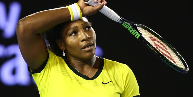 Serena Williams at the 2016 Australian Open. Photo / Getty Images