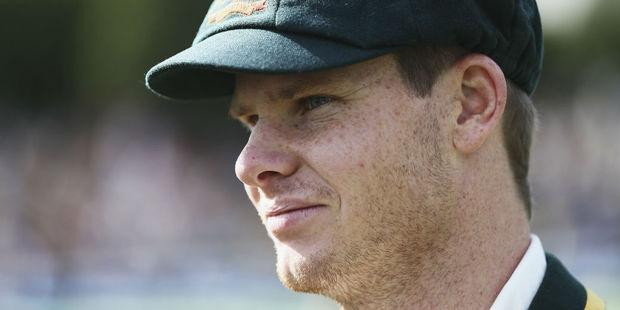 Australian skipper Steve Smith. Photo / Getty
