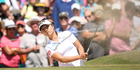 Lydia Ko plays a bunker shot from the third hole at the New Zealand Women's Open. Photo / Getty