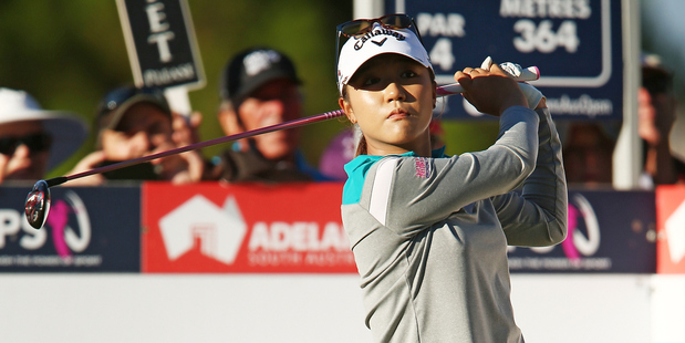 Lydia Ko competes during day one of the ISPS Handa Women's Australian Open. Photo / Getty Images