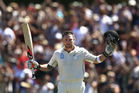 Brendon McCullum led the way with a record century. Photo / Getty