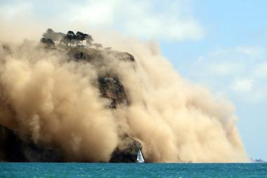 "Andy Winneke: ""It felt as if the boat had rumbled over some floating debris."" Photo / Andy Winneke"