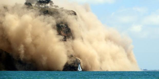 "Loading Andy Winneke: ""It felt as if the boat had rumbled over some floating debris."" Photo / Andy Winneke"
