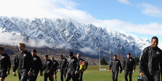 The Queenstown Events Centre pitch. Photo / Getty