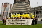 Amnesty International is in a bid to ramp up pressure on the Government to raise the threshold this year. Photo / Supplied