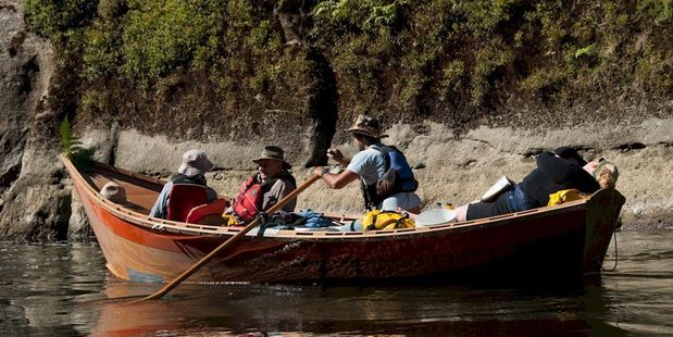 POPULAR: The Whanganui River has seen plenty of tourists this summer.