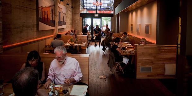 Comal restaurant in Berkeley. Photo / Charlie Villyard