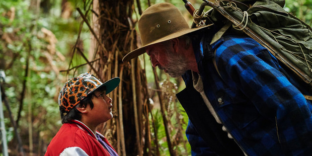 Loading Julian Dennison and Sam Neill star in the movie Hunt for the Wilderpeople.