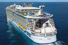 Harmony of the Seas launches in April.