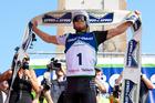 Whakatane's Sam Clark won the Coast to Coast race on Saturday for the first time. Photo / Marathon Photos.com