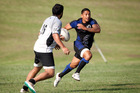 Te Puna halfback Te Aihe Toma scored two tries in the final of the Vaughan Kuka Memorial 10-a-side Tournament on Saturday. Photo / Andrew Warner