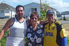 Carlos Rippon, Marama Dey and Wayne Temoananui