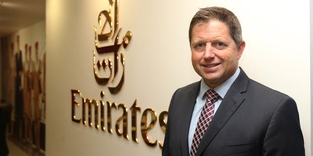 Chris Lethbridge, Emirates' New Zealand regional manager. Photo / Doug Sherring