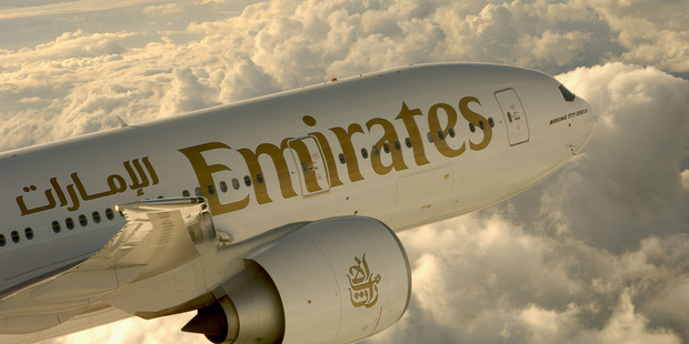 From next month Emirates will fly direct from Auckland to Dubai. Photo / Erik Hildebrandt