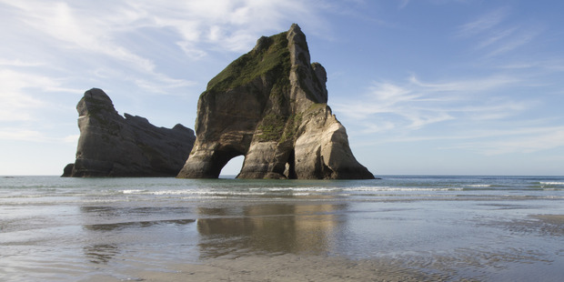 The drama unfolded at the remote Wharaiki Beach near the western base of Farewell Spit in Golden Bay. Photo / Supplied