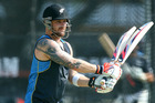 Brendon McCullum is first equal on the list of win percentages by a New Zealand captain. Photo / Getty Images