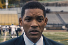 Will Smith stars in a scene from the movie Concussion.