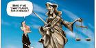 View: Cartoon: Bain compensation saga