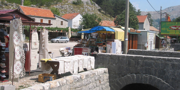 The village of Njegusi is where you'll find Montenegro's best prosciutto. Photo / Ewan McDonald