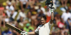 Adam Voges of Australia celebrates after reaching his century. Photo / Getty Images.