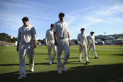 Join us here for today's live blog of the third day of the first test between the Black Caps and Australia. Photo / Getty Images.