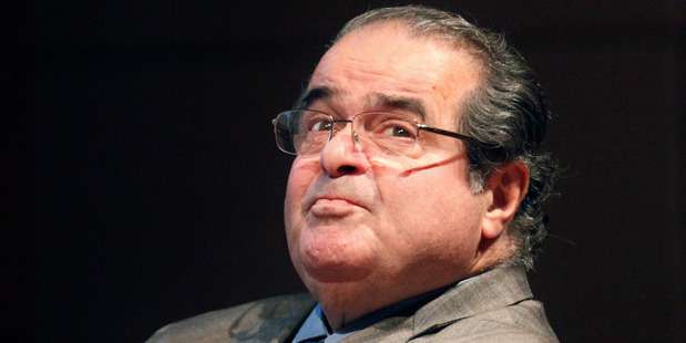 Antonin Scalia was regarded as the dominant figure of the court's conservative majority. Photo / AP
