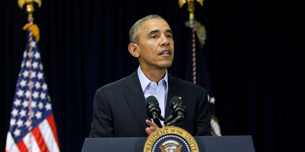 President Barack Obama speaks about the death of Supreme Court Justice Antonin Scalia. Photo / AP