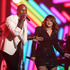 Tyrese, from left, Meghan Trainor, and Luke Bryan perform Brick House for a tribute to MusiCares Person of the Year honoree Lionel Richie at the 58th annual Grammy Awards. Photo / AP