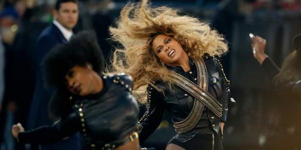 Protesters who thought Beyonce's Super Bowl performance was anti-police were outnumbered by the pop stars supporters.